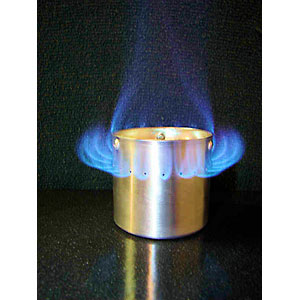photo of a White Box alcohol stove