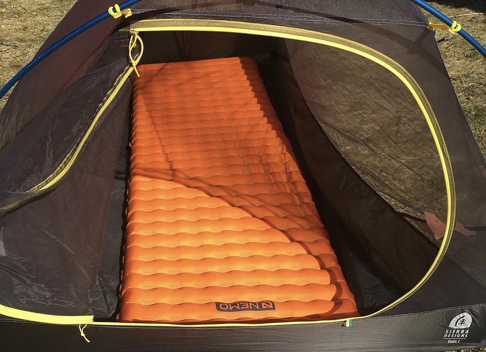 photo: NEMO Tensor Alpine Ultralight air-filled sleeping pad