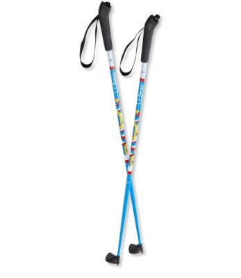 photo: L.L.Bean Snowflake Poles nordic touring pole