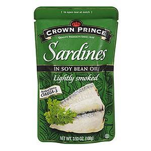 Crown Prince Sardines in Soy Bean Oil