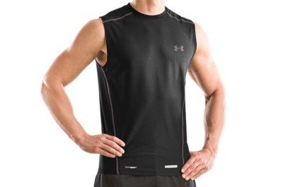 photo: Under Armour HeatGear Fitted Shortsleeve Crew base layer top