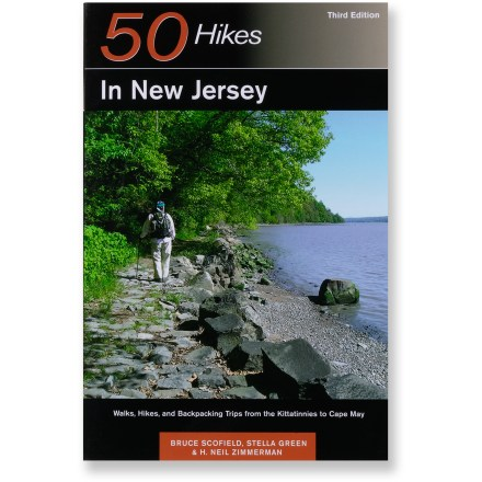 photo: Countryman Press 50 Hikes In New Jersey us northeast guidebook