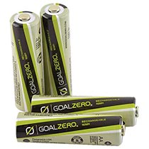 photo: Goal Zero AAA Rechargeable Batteries power storage