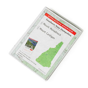 Appalachian Mountain Club Mount Monadnock and Mount Cardigan Map