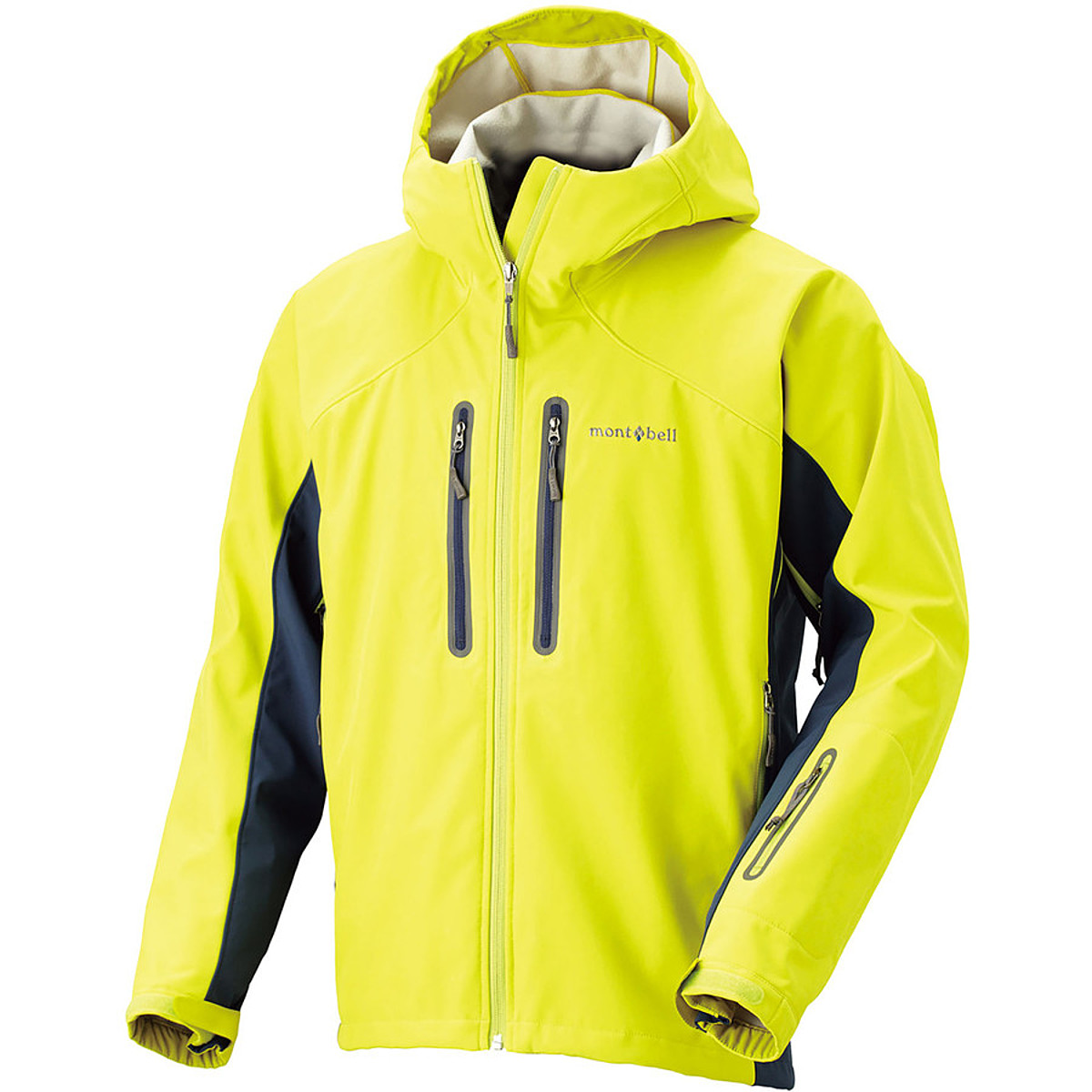 photo: MontBell Snow Banshee Hoodie soft shell jacket