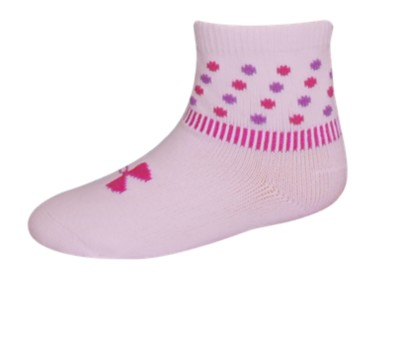 Under Armour Polka Dot Sock 0-6 Months