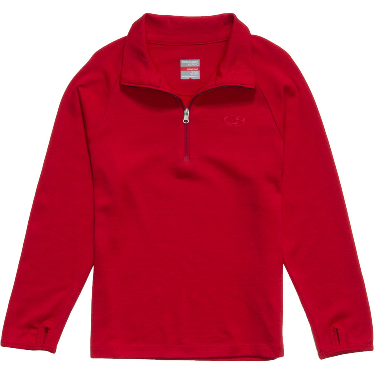 photo: Icebreaker Girls' 260 Midweight Tech Top base layer top