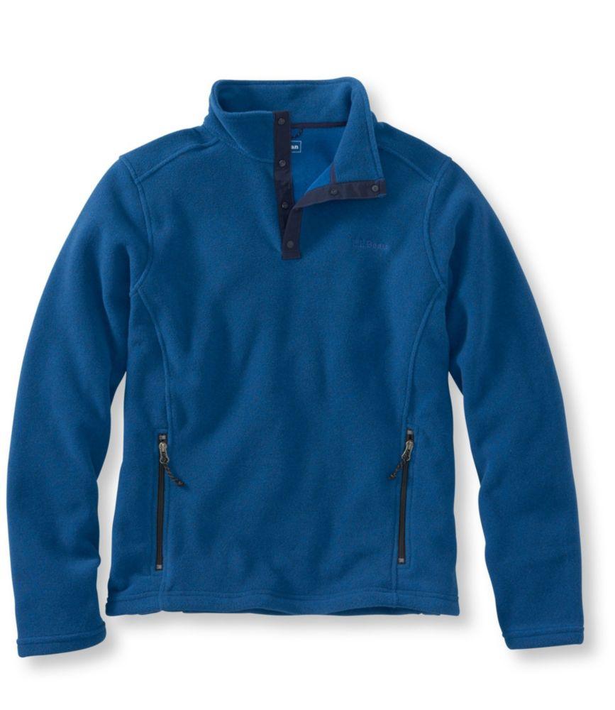 photo: L.L.Bean Men's Trail Model Fleece Pullover fleece top