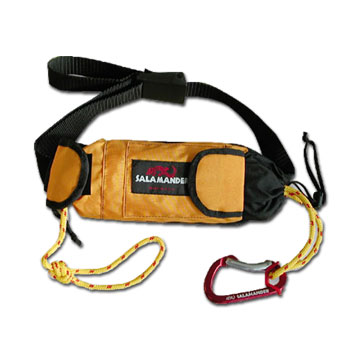 Salamander Golden Retriever Kayak Throw Rope & Rescue Tow Tether