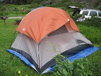 OVERALL This is really only a 2-season tent late Spring thru early fall will be suited for this tent when little-to-no adverse weather is to be expected. & Coleman SunDome 4 Tent 9u0027 x 7u0027 Reviews - Trailspace.com