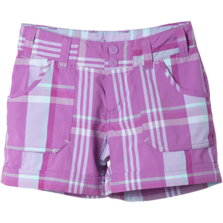 photo: Columbia Silver Ridge Novelty Short hiking short