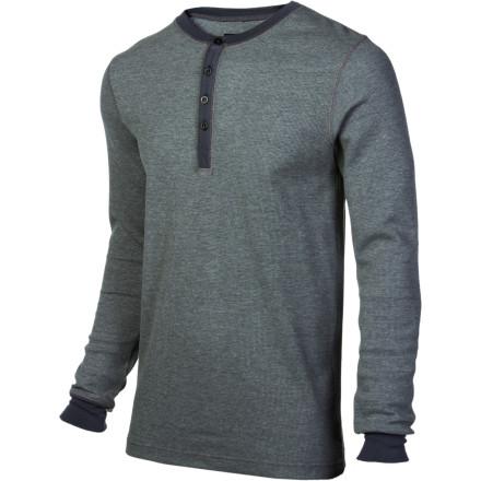 photo: Burton Men's Henley Shirt base layer top
