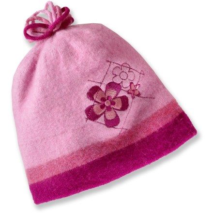 photo: REI Floral Stretch Wool Beanie winter hat