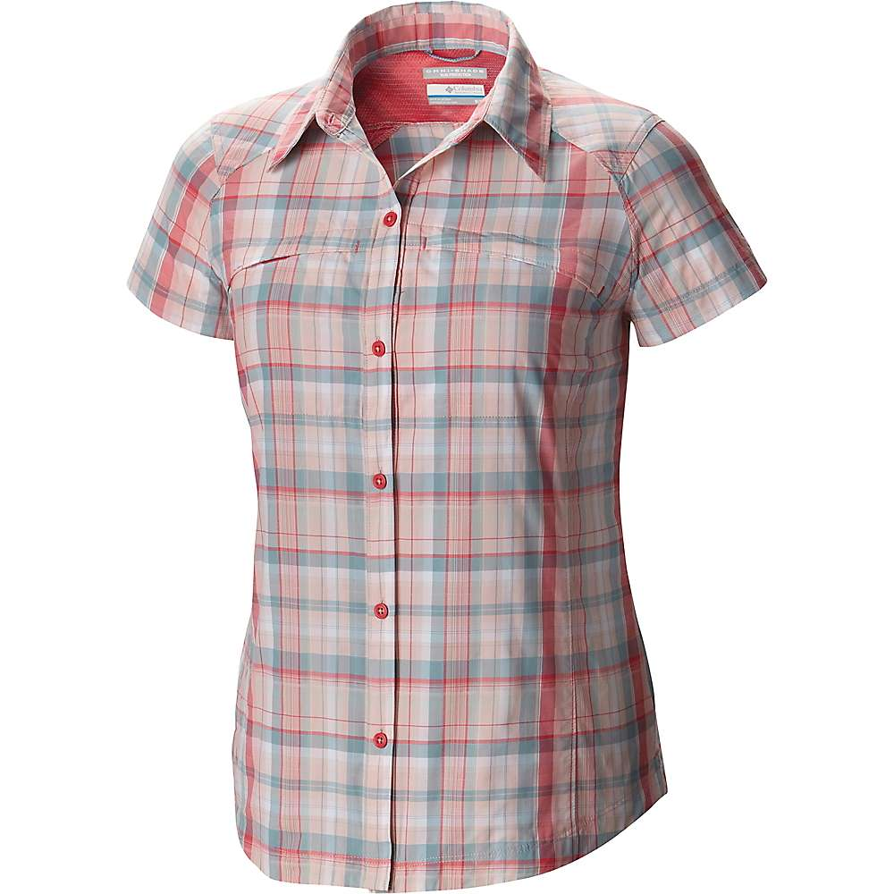 Columbia Silver Ridge Multi Plaid Short Sleeve Shirt