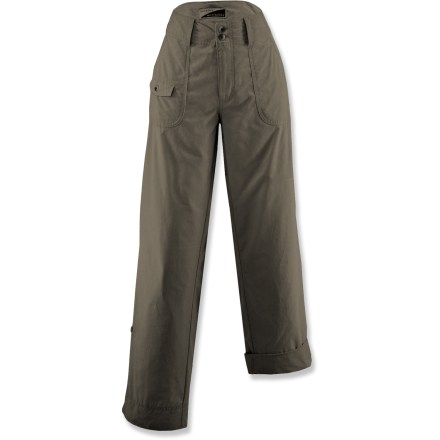 White Sierra Swamp Insect Shield Roll-Up Pants