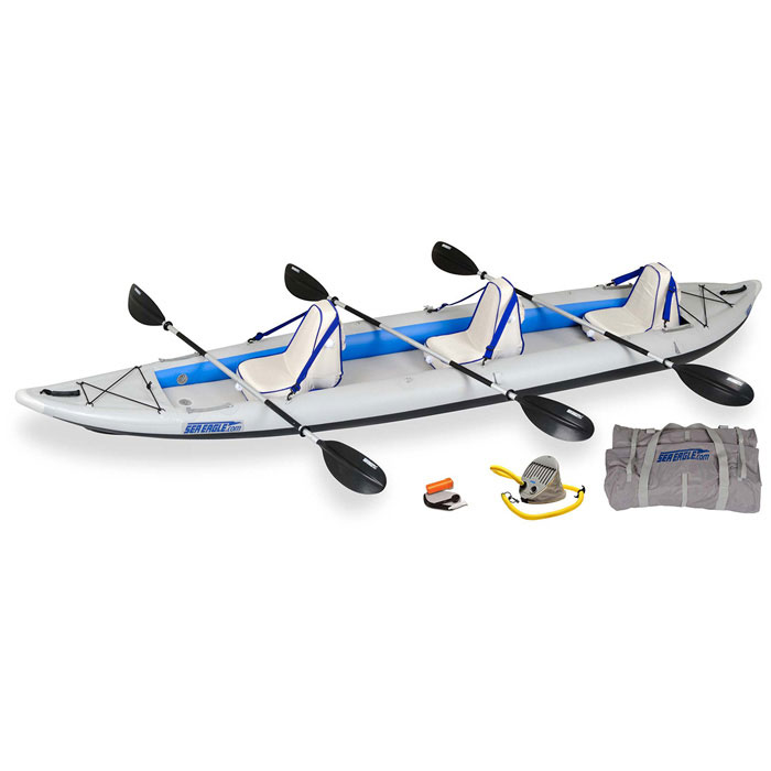 photo: Sea Eagle Fast Track 465ft inflatable kayak