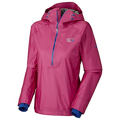 photo: Mountain Hardwear Women's Quasar Pullover waterproof jacket