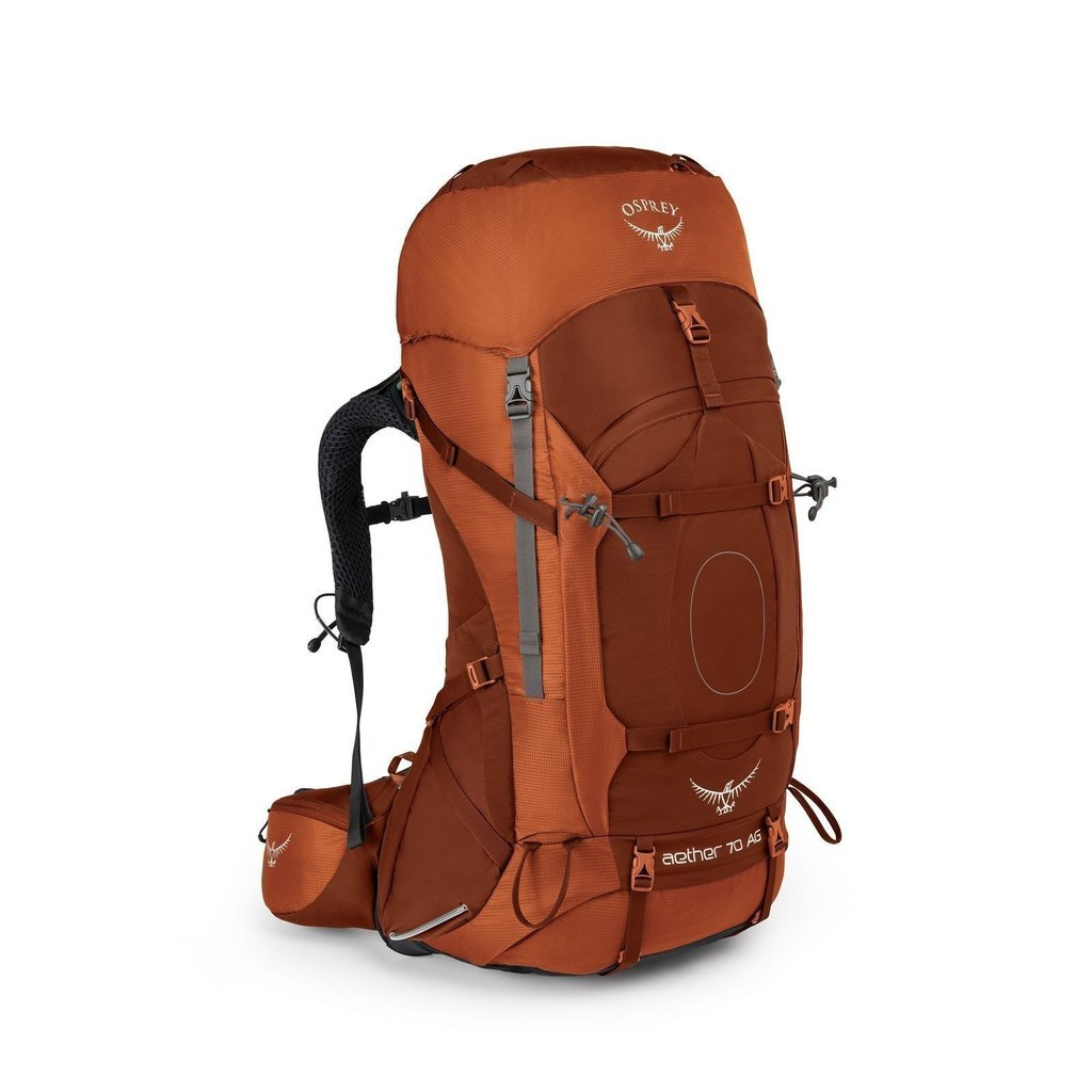 photo: Osprey Aether AG 70 weekend pack (50-69l)