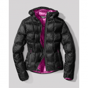 photo: Eddie Bauer Women's First Ascent Downlight Hooded Jacket down insulated jacket