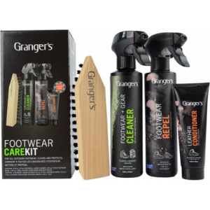Granger's G-Max Footwear Gel Cleaner/Waterproofer Kit