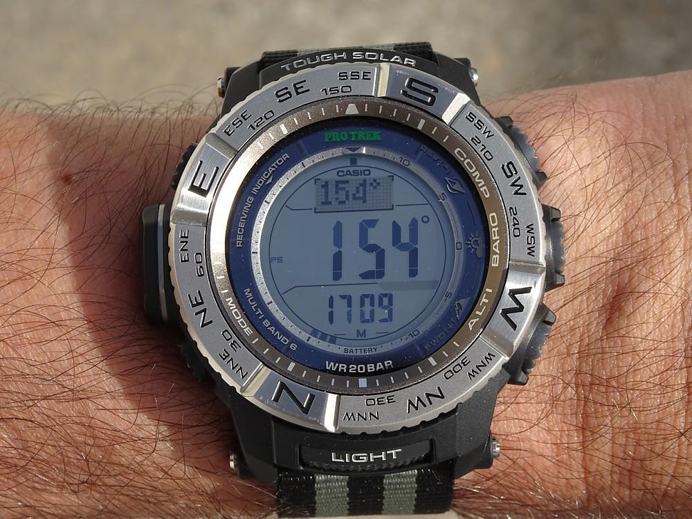 photo: Casio PRW3500-1 altimeter watch