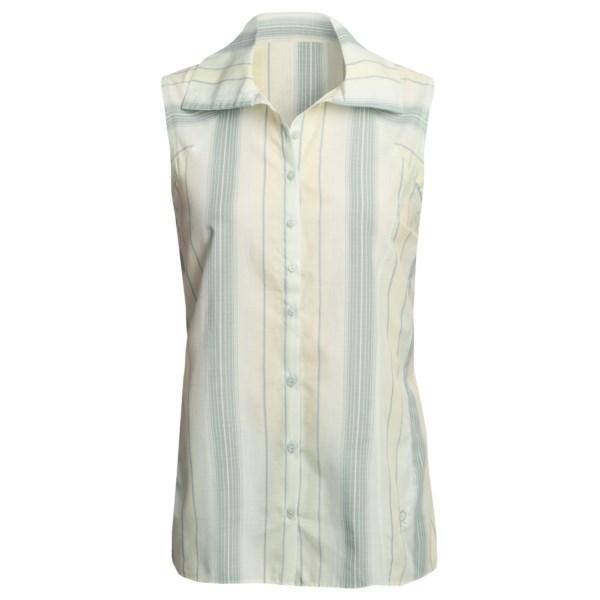 photo: Mountain Hardwear Potala Sleeveless Shirt hiking shirt