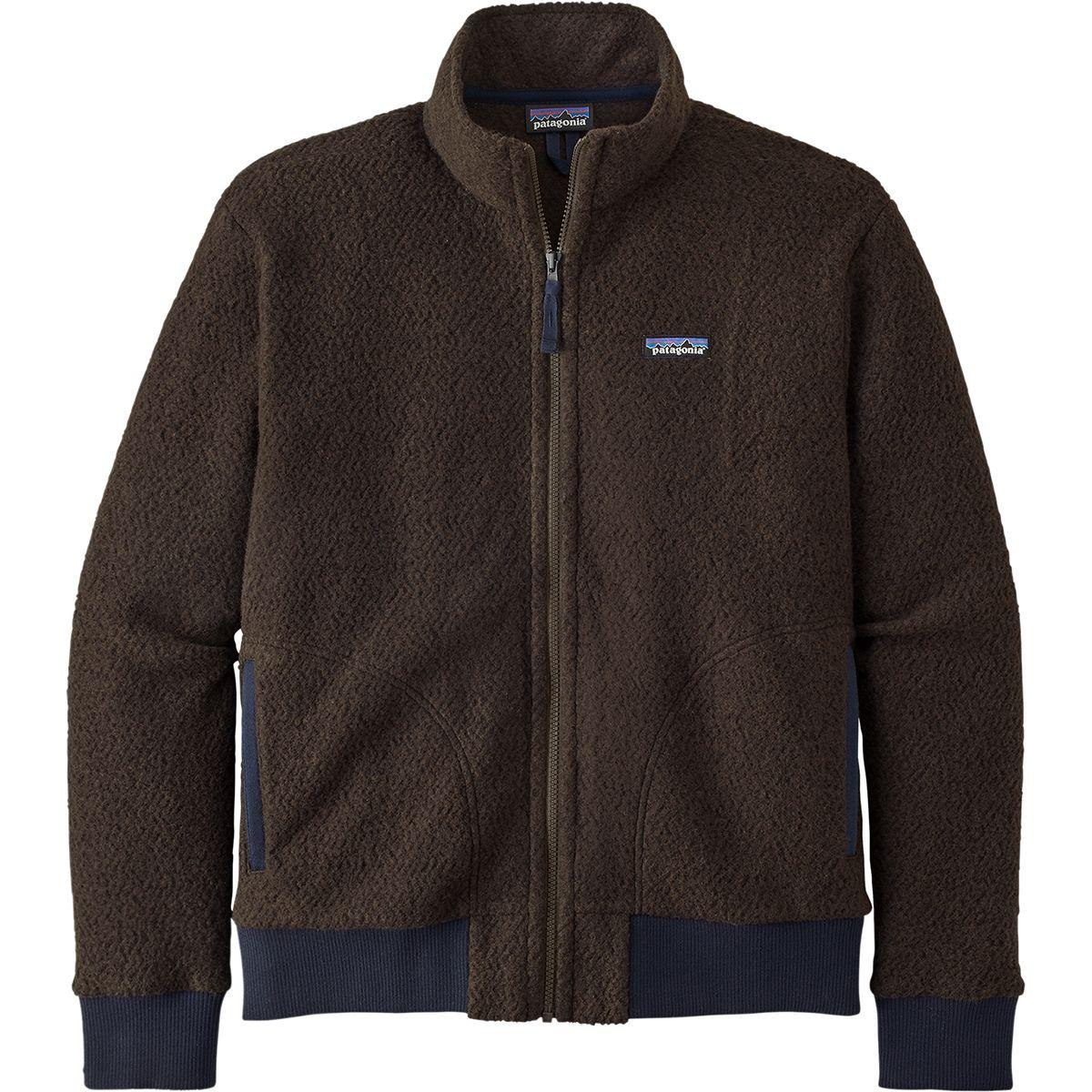 photo: Patagonia Men's Woolyester Fleece Jacket fleece jacket