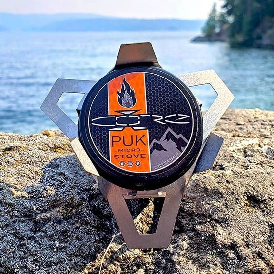 photo: MySurvivalPack Core PUK Micro Stove alcohol stove