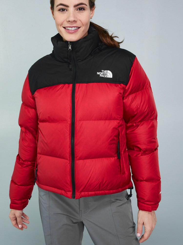 photo: The North Face Women's Nuptse Jacket down insulated jacket