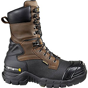 Carhartt 10-inch Insulated Composite Toe Pac Boots