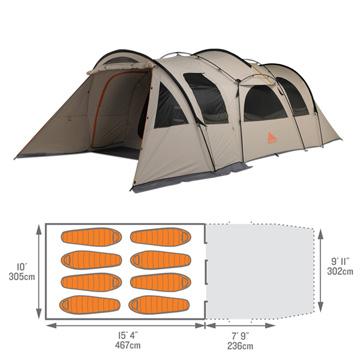 photo: Kelty Frontier Ponderosa three-season tent