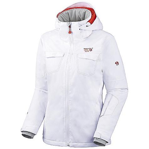 photo: Mountain Hardwear Pictora Jacket snowsport jacket