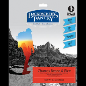 Backpacker's Pantry Charros Beans & Rice