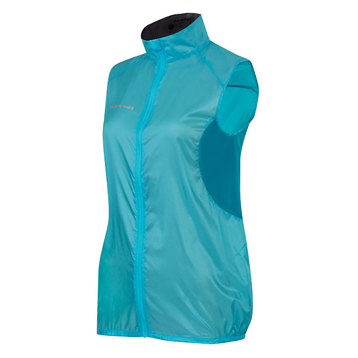 photo: Mammut Women's MTR 141 Micro Vest wind shell vest