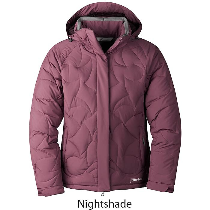 photo: Cloudveil Women's Down Patrol Jacket down insulated jacket