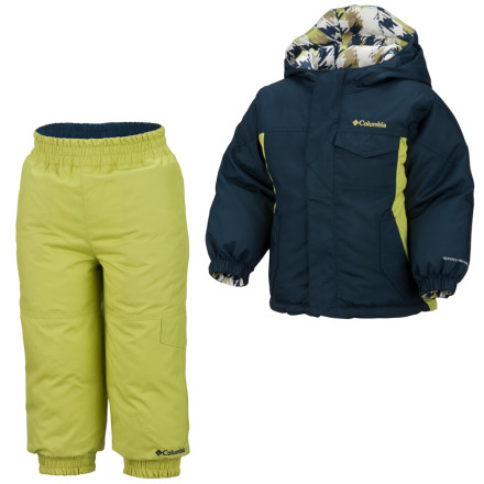 photo: Columbia Jack Frosty Set kids' snowsuit/bunting