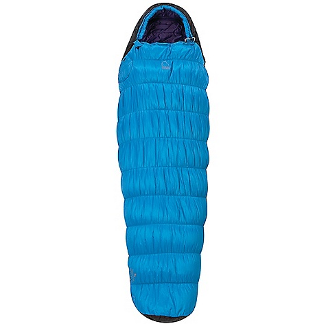photo: Sierra Designs Moon Beam warm weather synthetic sleeping bag