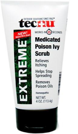 photo: Tecnu Extreme Medicated Poison Ivy Scrub first aid supply