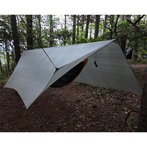 photo of a HammockGear tent/shelter