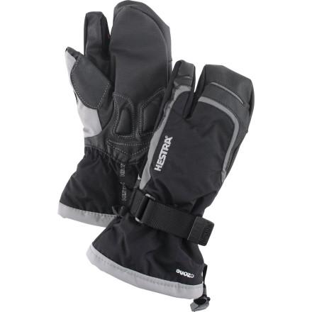 Hestra Czone Gauntlet 3-Finger Jr Glove