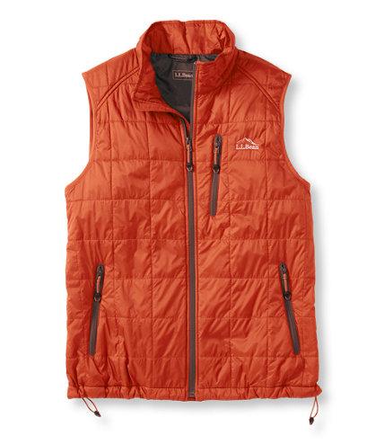 photo: L.L.Bean Men's PrimaLoft Packaway Vest synthetic insulated vest