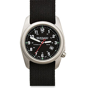Bertucci A-2T Titanium Nylon Watch