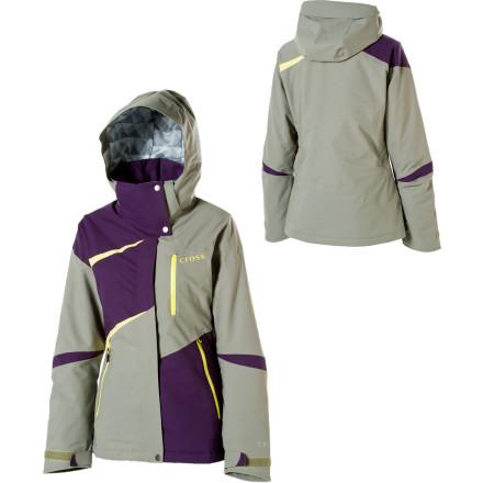 photo: Cross Alma Stretch Jacket snowsport jacket