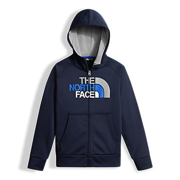 photo: The North Face Boys' Surgent Full Zip Hoodie fleece jacket