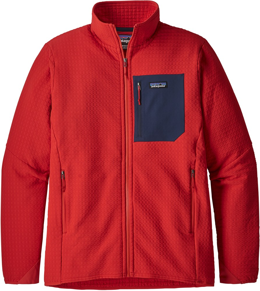 photo: Patagonia Men's R2 TechFace Jacket fleece jacket