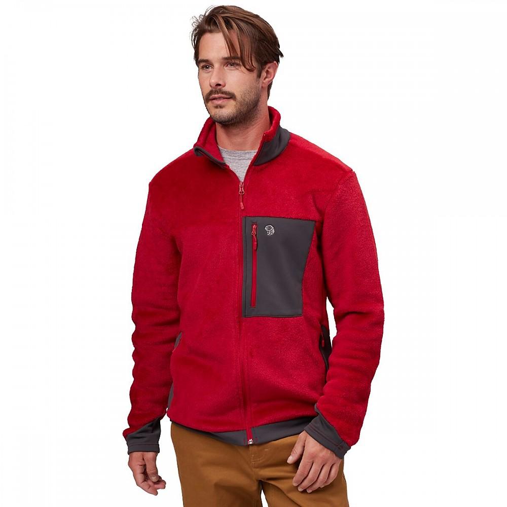 photo: Mountain Hardwear Monkey Man Jacket fleece jacket