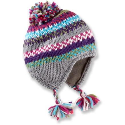 REI Peruvian Multi-Stripe Knit Hat