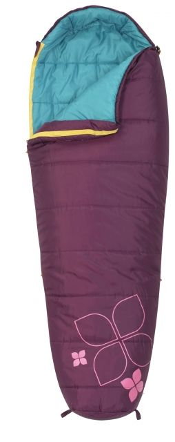 photo: Kelty Little Flower 20 Junior 3-season synthetic sleeping bag