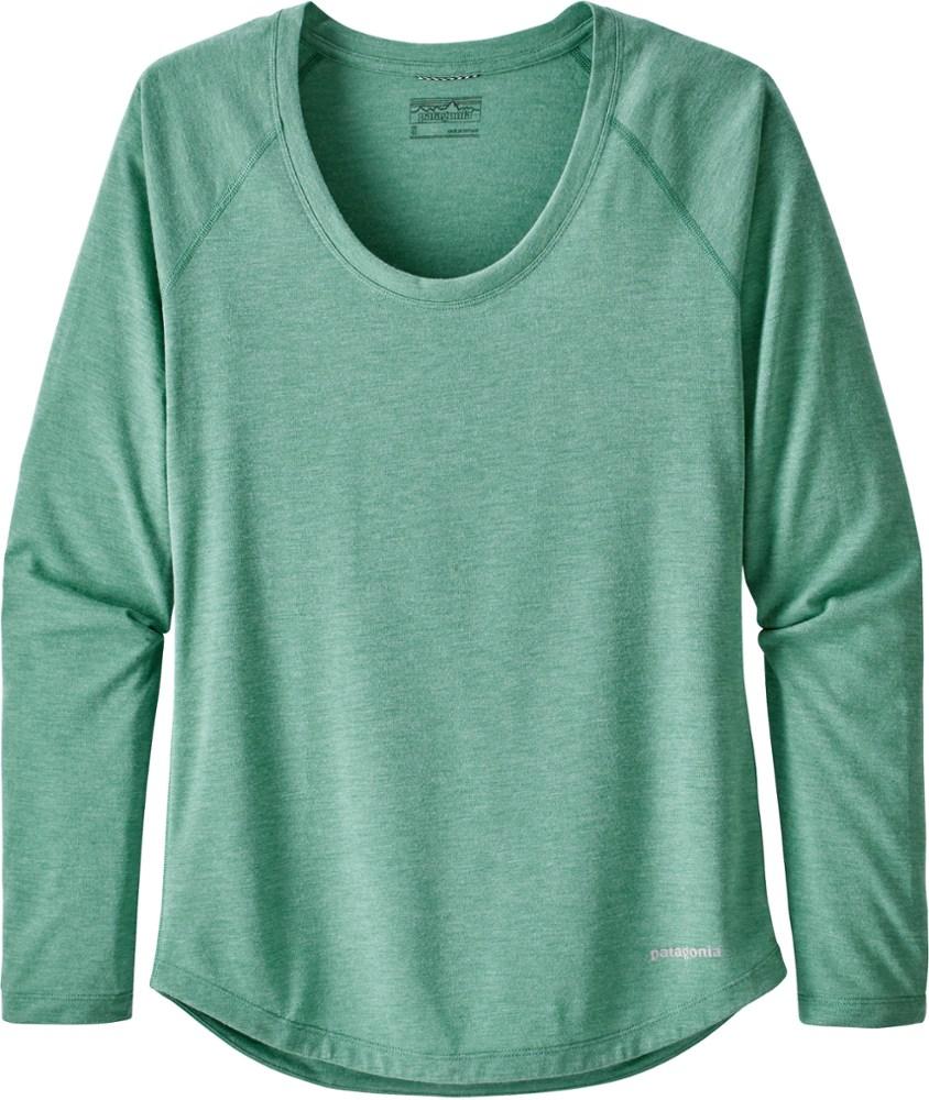 photo: Patagonia Women's Long-Sleeved Nine Trails Shirt long sleeve performance top