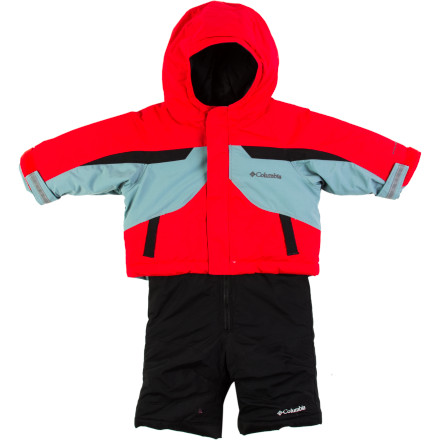 photo: Columbia Snow Powder Set kids' snowsuit/bunting